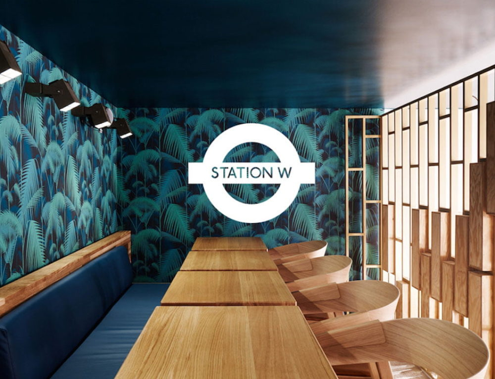 Station W: a coworking space in bars and restaurants